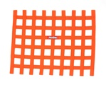 RIBBON WINDOW NET ORANGE - NON SFI