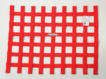 SFI RIBBON WINDOW NET   RED