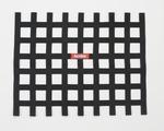 RIBBON WINDOW NET BLACK - NON SFI