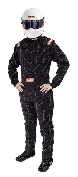 CHEVRON-1 SUIT  SFI-1 BLACK X-LARGE picture