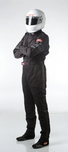 SFI-1 1-L SUIT  BLACK LARGE picture