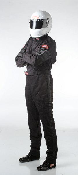 SFI-1 1-L SUIT  BLACK LARGE picture