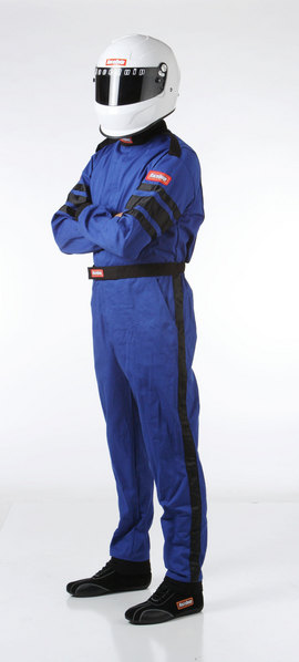 SFI-1 1-L SUIT  BLUE LARGE picture