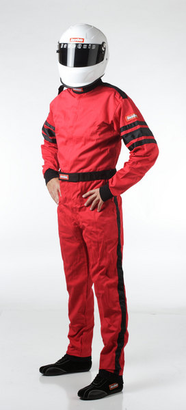 SFI-1 1-L SUIT  RED LARGE picture
