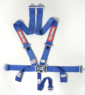 L & L 5PT HARNESS SET BLUE picture