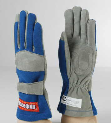 1-LYR SFI-1 GLOVE LRG  BLUE picture