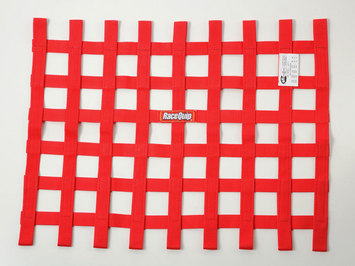 SFI RIBBON WINDOW NET   RED picture