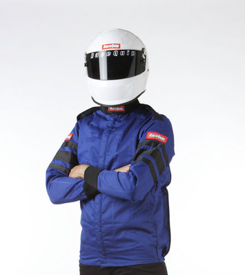 SFI-5 JACKET BLUE LARGE picture