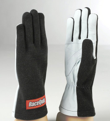 BASIC RACE GLOVE LARGE BLACK picture