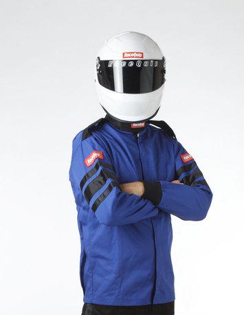 SFI-1 1-L JACKET  BLUE MEDIUM picture