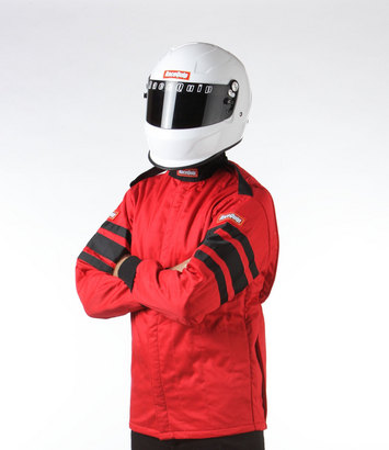 SFI-5 JACKET RED LARGE picture