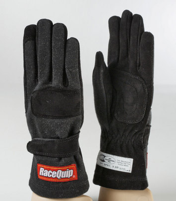 2-LYR SFI-5 GLOVE LRG BLACK picture