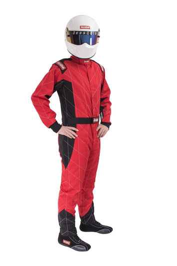 CHEVRON-1 SUIT SFI-1 RED 2X-LARGE picture