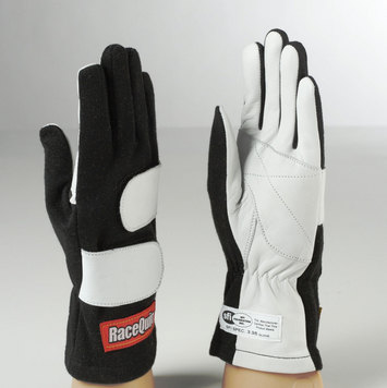 MOD GLOVE 2-LAYER SFI-5 LRG  BLK picture