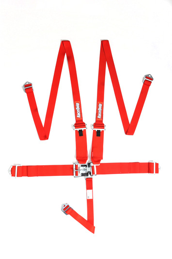 L & L 5PT HNR HARNESS SET RED picture