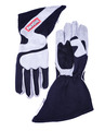 2-LYR SFI-5 GLOVE MEDIUM BLACK OUTSEAM ANGLE CUT GAUNTLET