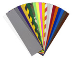"Jessup Griptape® Colors All Colors 20 Pack (9"" x 33"" sheets, 2 clear, 1 of each color)"