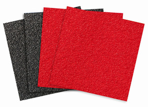 """*NEW* Jessup Griptape® Colors 9""""x9"""" (Black & Red) 4/pack picture"""