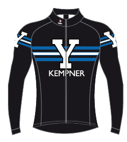 Yale University Cycling Team Thermal Jacket picture