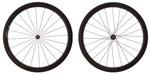 2016 4ZA Cirrus Pro C45 Clincher Wheelset - Black/Black
