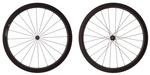 2016 4ZA Cirrus Pro T45 Tubular Wheelset - Black/Black
