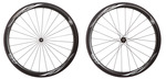 2016 4ZA Cirrus Pro C45 Clincher Wheelset - Black/White