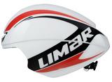 2016 LIMAR Speed King TT Helmet - White/Black/Red
