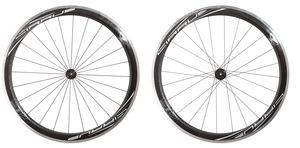 2016 4ZA Cirrus AC45 Tubular Wheelset - Black/White picture