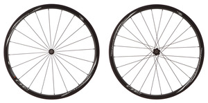 2016 4ZA Cirrus Pro T30  Disc Brake Tubular Wheelset - Black/White picture