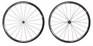 2016 4ZA Cirrus Pro C30 Clincher Wheelset - Black/White picture