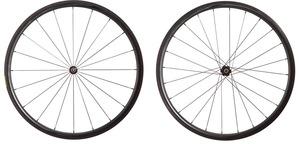 2016 4ZA Cirrus Pro C30 Clincher Wheelset - Black/Black picture