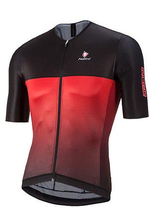 Nalini Black Ti SS Jersey - Black/Red picture