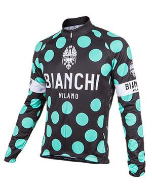 Bianchi-Milano Celeste Polka Dot LS Jersey (LEGGENDA1) picture
