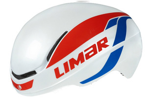 LIMAR 007 SuperLight Helmet - White/Red/Blue (2017) picture