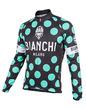 Bianchi-Milano Celeste Polka Dot LS Jersey (LEGGENDA1) additional picture 1