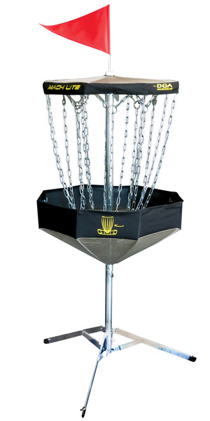 DGA Mach Lite  Portable Disc Golf Basket picture