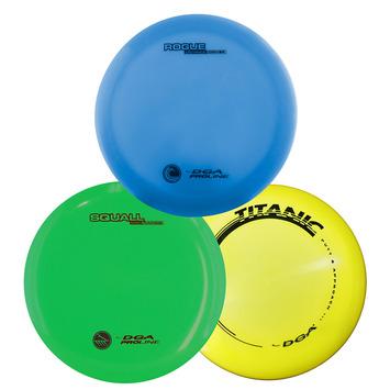 DGA Disc Golf Set - Pro 3 Pack picture