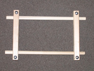 Mini Split Rail Scroll Frame picture