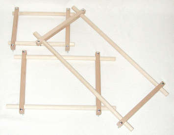 Split Rail Scroll Frame Set picture