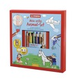 STABILO woody 3 in 1, 6 pencils with colouring book and sharpener