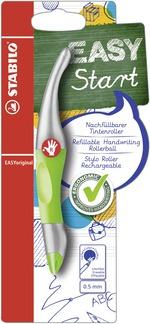 STABILO EASYoriginal metallic ergonomic rollerball right handed - green