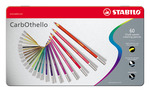STABILO Carbothello Metal Box of 60 Assorted