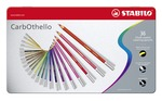 STABILO Carbothello Metal Box of 36 Assorted