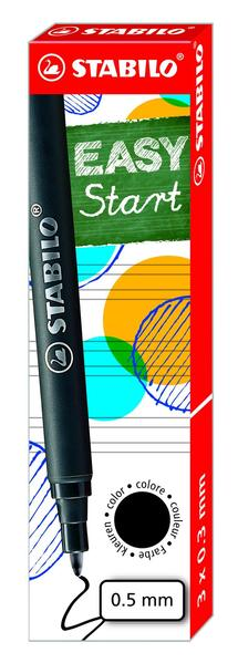 STABILO EASYoriginal 3 refills medium - black picture