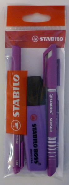 STABILO teacher marking pack purple picture