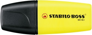 STABILO BOSS Mini Yellow Single picture