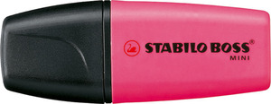 STABILO BOSS MINI highlighter single - pink picture