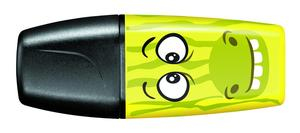 STABILO BOSS Mini Funnimals highlighters Yellow Single picture