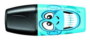 STABILO BOSS MINI Funnimals highlighter single - blue picture