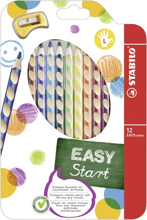 STABILO EASYcolors Left Wallet of 12 Assorted picture